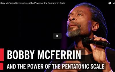 Youtube filmpje van Bobbi McFerrin